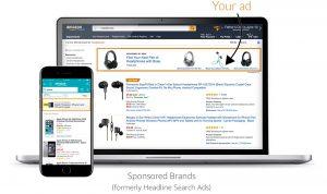 Anuncios de marcas patrocinadas en Amazon